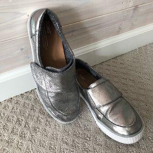 Metallic TOMS Sneakers